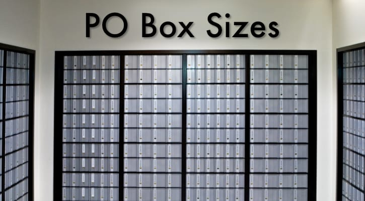 Po Box Sizes Your Guide To Usps Po Box Sizes